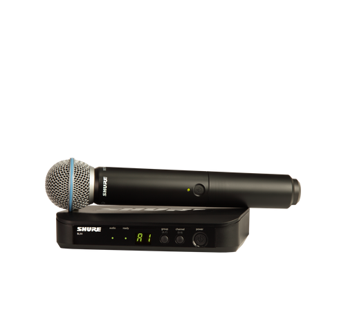 Shure BLX24/B58 Wireless Handheld Microphone System
