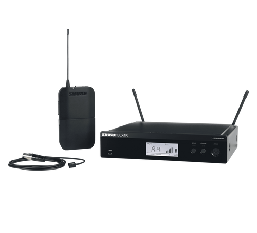 Shure BLX14R/W93 Wireless Lavalier Microphone System