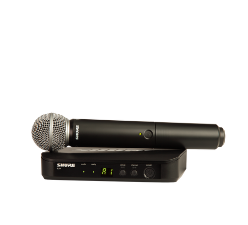 Shure BLX24R/SM58 Wireless Handheld Microphone System