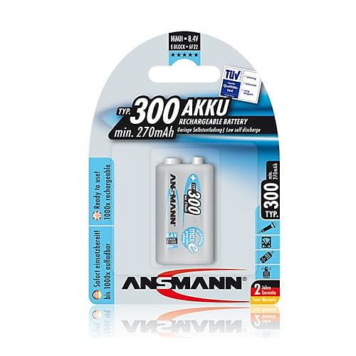 Ansmann 9v Rechargeable Battery