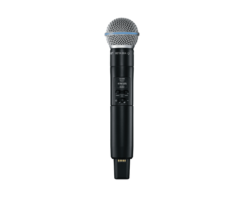 Shure SLXD2/B58 Digital Wireless Handheld Transmitter with Beta 58 Microphone