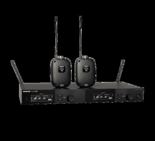 Shure SLXD14D dual-channel wireless system