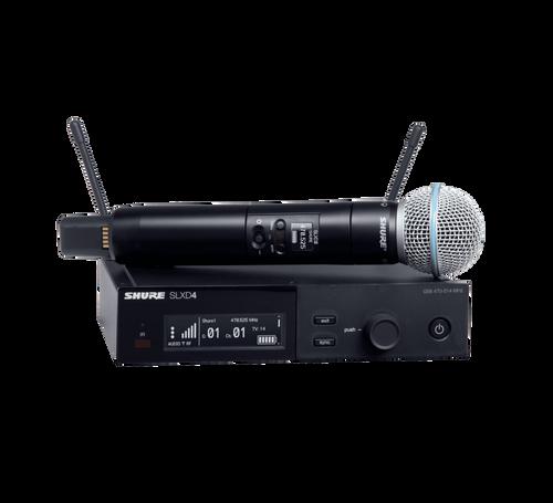 Shure SLXD24/B58 Digital Wireless Handheld System