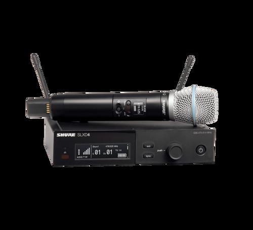 Shure SLXD24/B87A Digital Wireless Handheld System