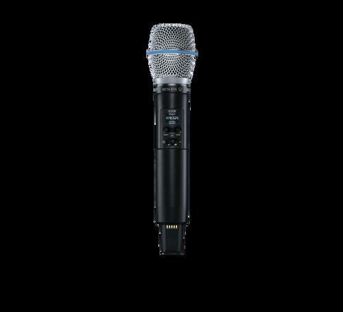 Shure SLXD2/B87A Digital Wireless Handheld Transmitter with Beta 87 Microphone