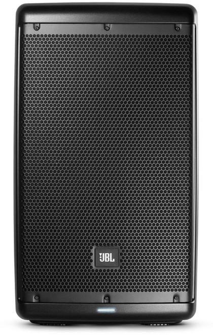 "JBL EON610  10"" 2-way self-powered speaker, front view"