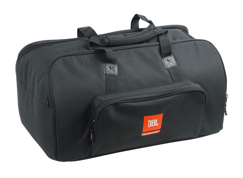 JBL EON612 BAG, deluxe padded carry bag, closed view