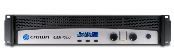 Crown CDi4000 Two-Channel Power Amplifier, front view