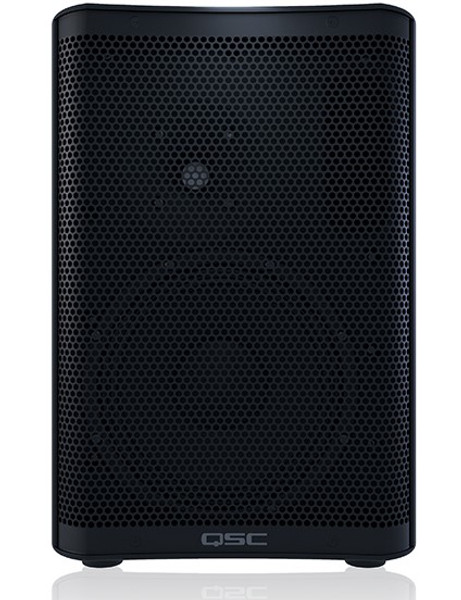 QSC CP8 Compact Active 8-inch Loudspeaker, front view