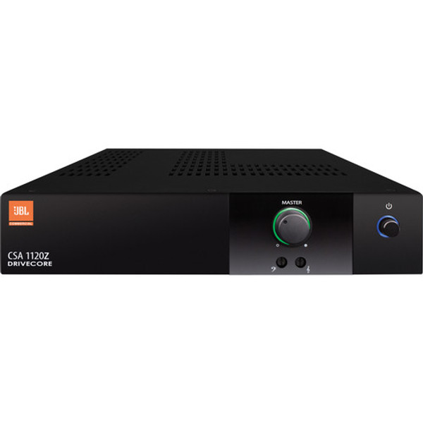JBL CSA1120Z 70v Amplifier, front view