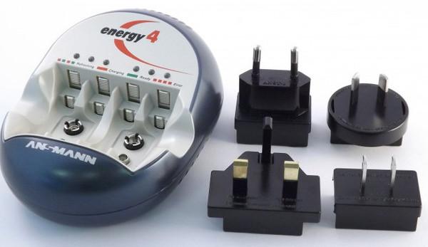 Ansmann Energy 4 Battery Charger