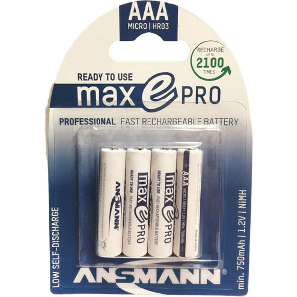 Ansmann AAA Rechargeable Batteries