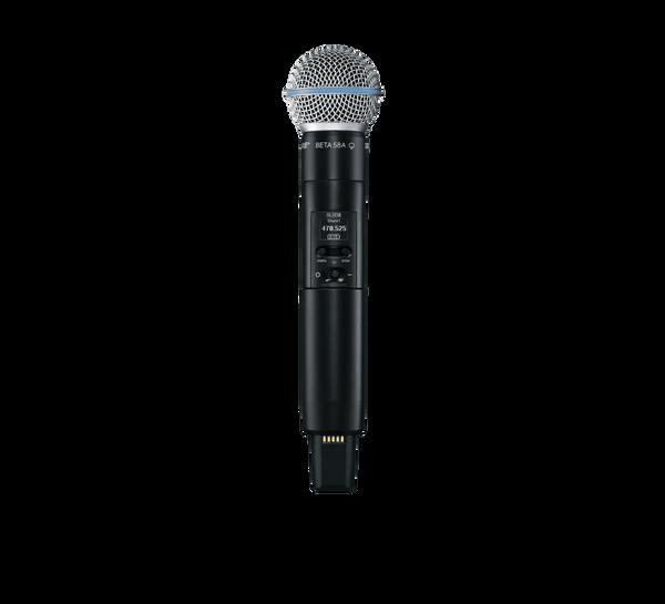 Shure SLXD2/B58 Digital Wireless Handheld Transmitter with Beta 58 Microphone