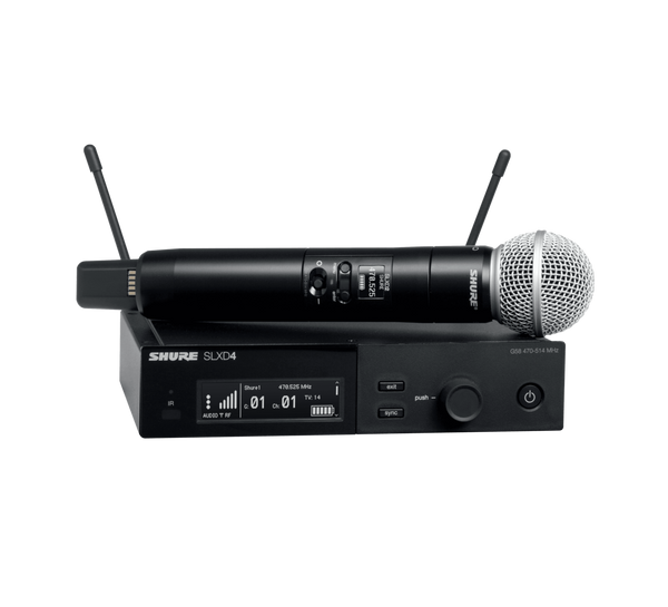Shure SLXD24/SM58 Digital Wireless Handheld System
