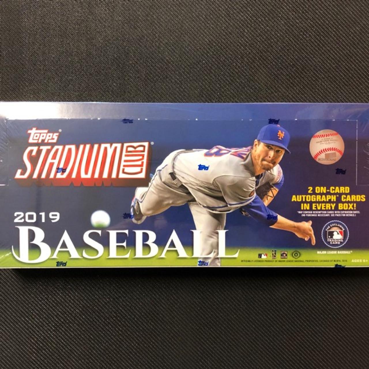 Inserts Parallels-U Choose Variations 2019 Topps Stadium Club Baseball Cards