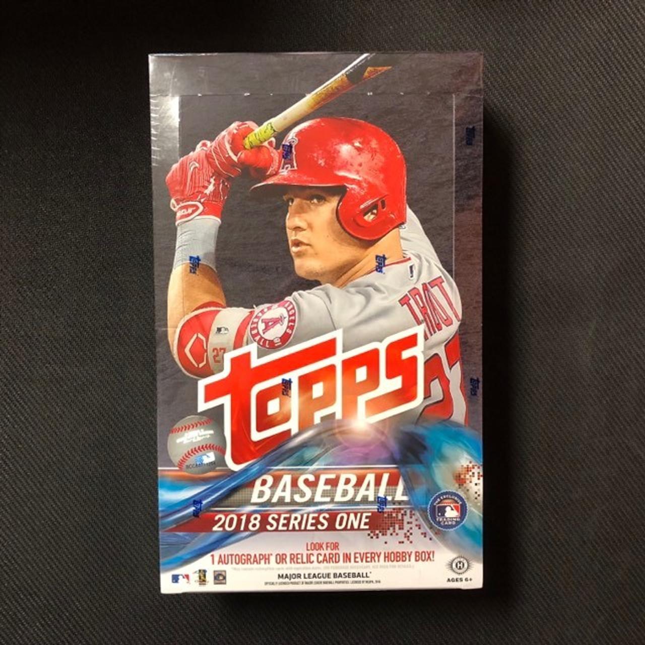 2018 Topps Series 1 Baseball Hobby Box