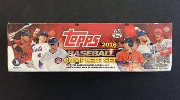 2016 Topps Complete Baseball Factory Set