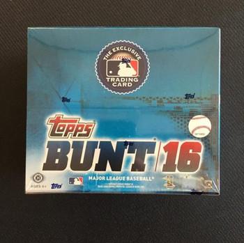 2016 Topps Bunt Baseball Hobby Box