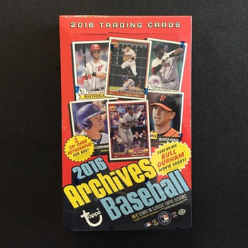 2016 Topps Archives Baseball Hobby Box