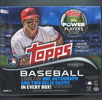 2014 Topps Series 1 Baseball HTA Jumbo Box