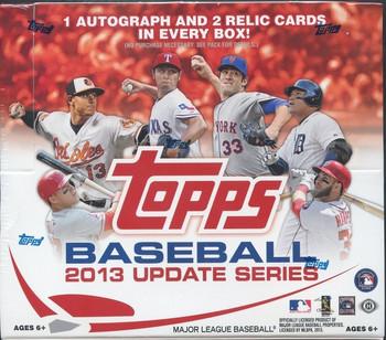 2013 Topps Update Series Baseball Jumbo HTA Box