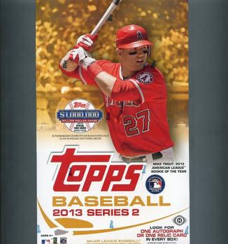 2013 Topps Series 2 Baseball Hobby Box