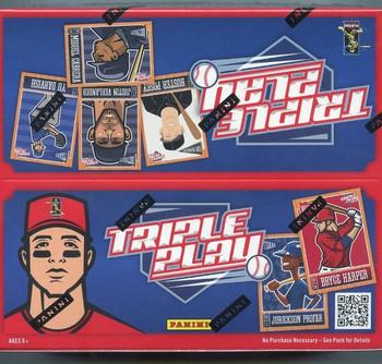 2013 Panini Triple Play Baseball 24 Count Box