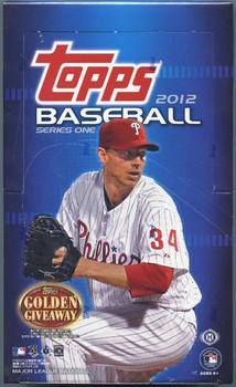 2012 Topps Series 1 Hobby Baseball Box