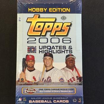 2006 Topps Updates & Highlights Baseball Hobby Box