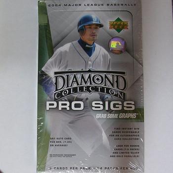 2004 Upper Deck Diamond Collection Pro Sigs Baseball Box