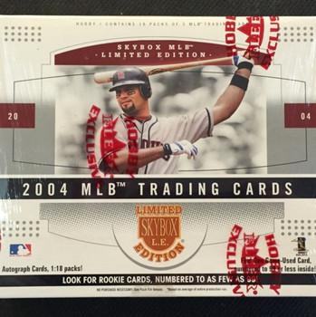 2004 Fleer Skybox Limited Edition Baseball Hobby Box