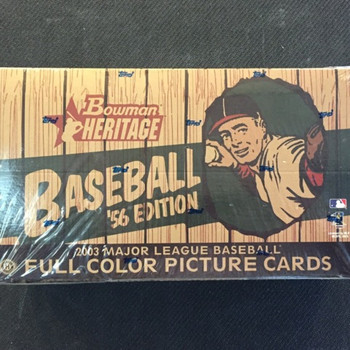 2003 Bowman Heritage '56 Edition Baseball Hobby Box