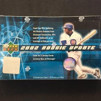 2002 Upper Deck Rookie Update Baseball Hobby Box