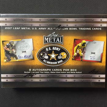 2017 Leaf Metal US Army All-American Bowl Football Box