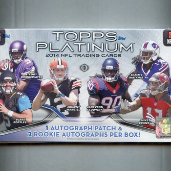 2014 Topps Platinum Football Hobby Box