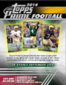 2014 Topps Prime Football Hobby Box