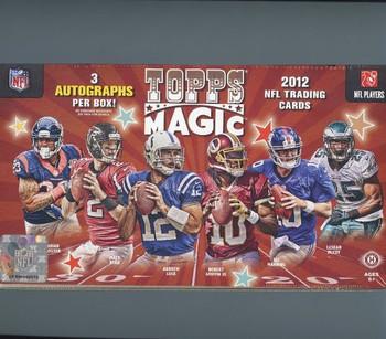 2012 Topps Magic Football Hobby Box