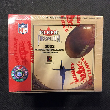 2002 Fleer Premium Football Hobby Box