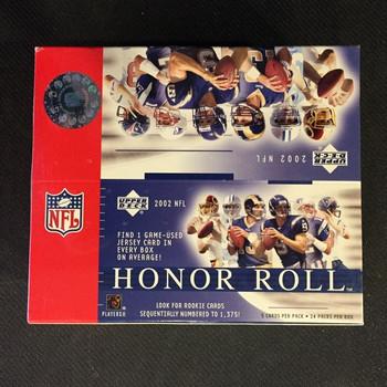 2002 Upper Deck Honor Roll Football Hobby Box