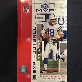 2002 Upper Deck MVP Football Hobby Box