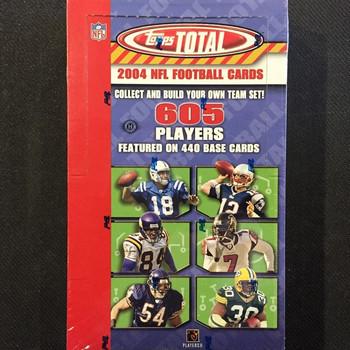 2004 Topps Total Football Hobby Box
