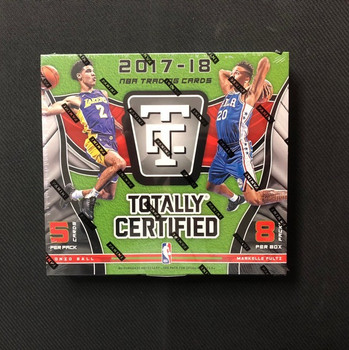 2017/18 Panini Totally Certified Basketball Hobby Box