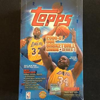 2000-01 Topps Series 1 Basketball Hobby Box