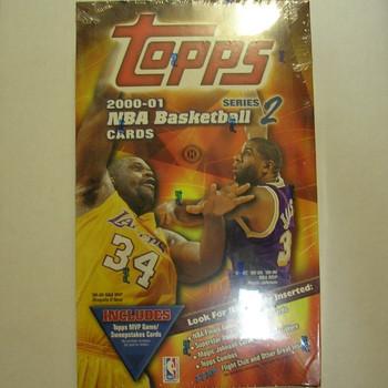 2000-01 Topps Series 2 Basketball Hobby Box