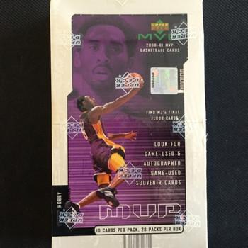 2000-01 Upper Deck MVP Basketball Hobby Box