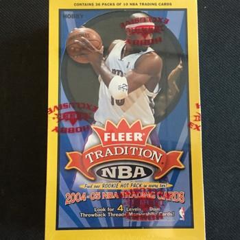 2004-05 Fleer Tradition Basketball Hobby Box