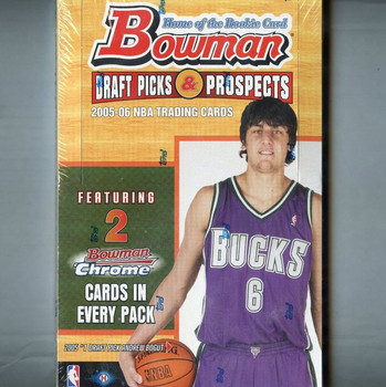 2005-06 Bowman Draft Picks and Prospects Basketball Hobby Box