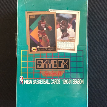 1990-91 Skybox Series 2 Basketball Hobby Box