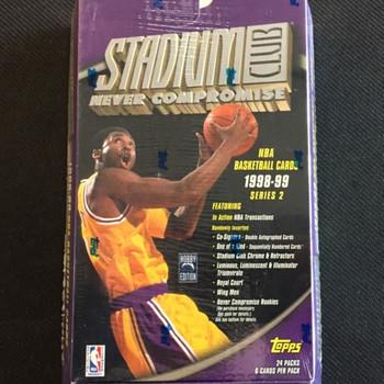 1998-99 Topps Stadium Club Series 2 Basketball Hobby Box
