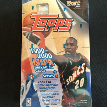1999-00 Topps Series 1 Basketball Hobby Box
